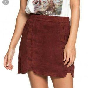 Roxy skirt.